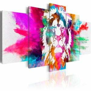 Wandbild - Colours of the King
