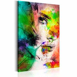 Wandbild - Farben der Weiblichkeit