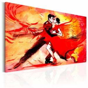 Wandbild - Tanz der Sinne