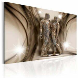 Wandbild - Ein Denkmal der Liebe