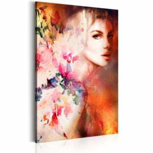 Wandbild - Göttin der Sinnlichkeit