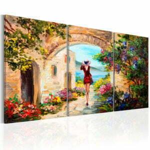 Wandbild - Summer in Italy