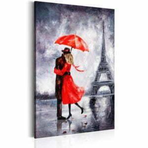 Wandbild - Love in Paris