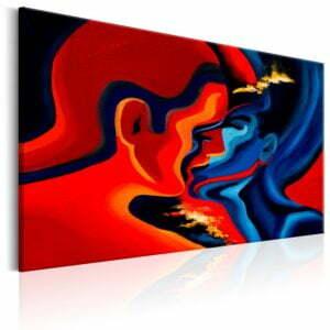 Wandbild - Cosmic Kiss