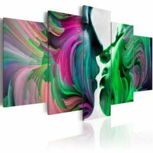 Wandbild - Farben der Liebe