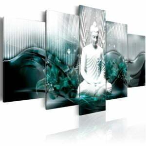 Wandbild - Azure Meditation