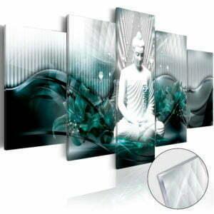 Acrylglasbild - Azure Meditation [Glass]