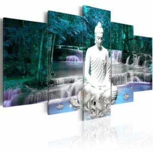 Wandbild - Azure Prayer
