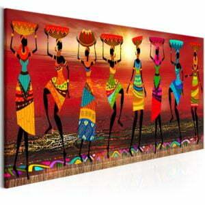 Wandbild - African Women Dancing
