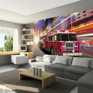 Fototapete - Fire truck
