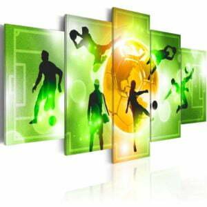 Wandbild - I Love Soccer