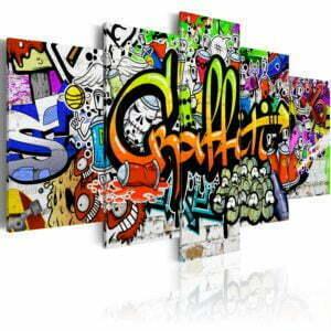 Wandbild - Artistic Graffiti