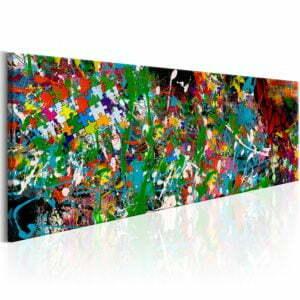 Wandbild - Artistic Puzzle