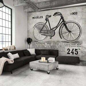 Fototapete - Bicycle (Vintage)