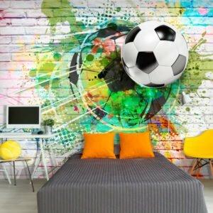 Fototapete - Colourful Sport