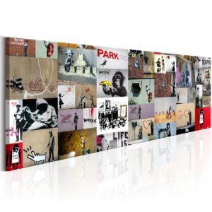 Wandbild - Art of Collage: Banksy II