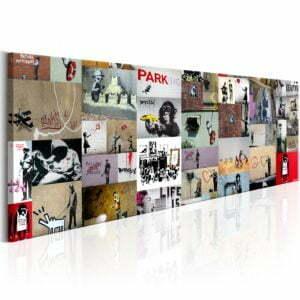 Wandbild - Art of Collage: Banksy II