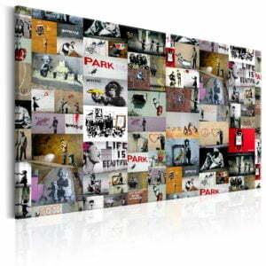 Wandbild - Art of Collage: Banksy