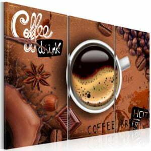Wandbild - Cup of hot coffee