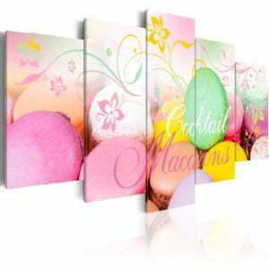 Wandbild - Macarons