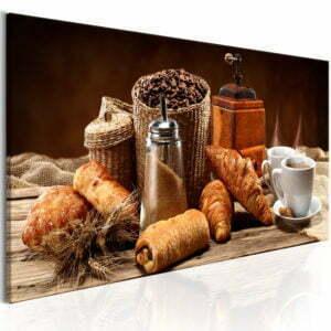 Wandbild - Erträumtes Frühstück