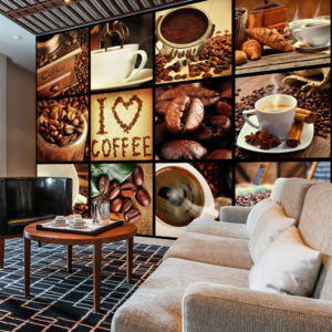 Fototapete - Coffee - Collage