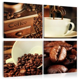 Wandbild - Coffee Tasting