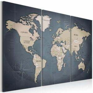 Wandbild - Anthracitic World