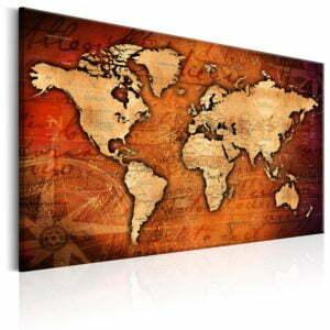Wandbild - Amber World