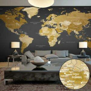 XXL Tapete - World Map: Modern Geography II
