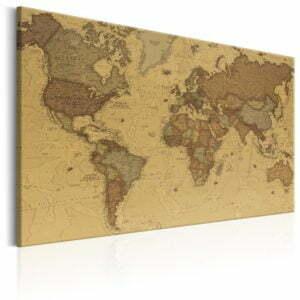 Wandbild - Ancient World Map