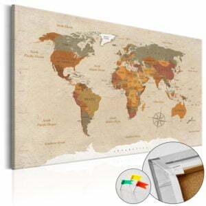 Korkbild - Beige Chic [Cork Map]