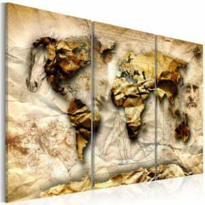 Wandbild - Anatomy of the World