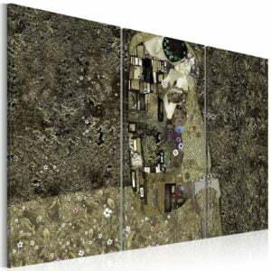 Wandbild -  Klimt inspiration - Love