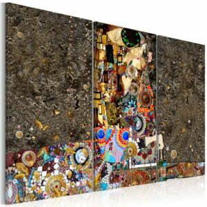 Wandbild - Mosaic of Love