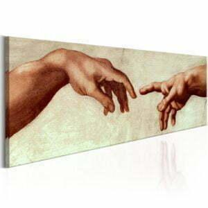 Wandbild - God's Finger
