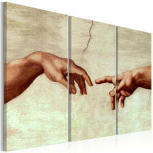 Wandbild - Touch of God