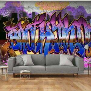 Fototapete -  Colorful Mural