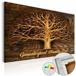 Korkbild - Family Tree [Corkboard]