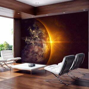 Fototapete - Golden Earth