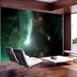 Fototapete - Der grüne Planet