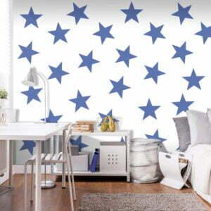 Fototapete - Blue Star