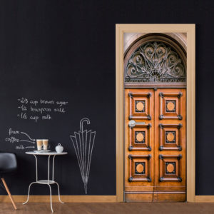 Türtapete - Antique Doors