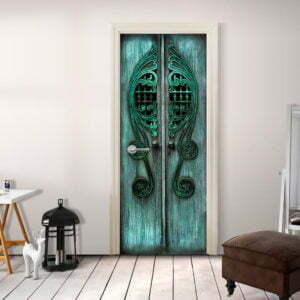 Türtapete - Emerald Gates