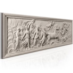 Wandbild - Relief: Apollo and Muses