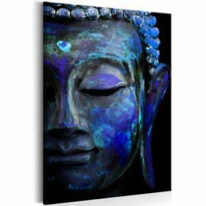 Wandbild - Blue Buddha