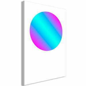 Wandbild - Circle Gradient (1 Part) Vertical