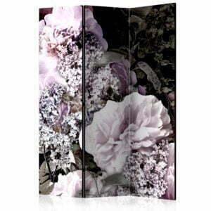 """""""3-teiliges Paravent - Vintage Garden [Room Dividers]"""""""