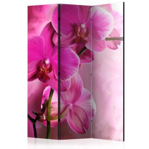 """""""3-teiliges Paravent - Pink Orchid [Room Dividers]"""""""
