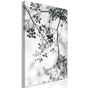 Wandbild - Blooming Twigs (1 Part) Vertical